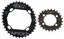 4G DOVAL MTB BCD96-64, 104-64 , 120-80 Double Chainring for Shimano/etc