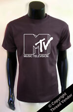 Retro MTV T-Shirt 80's 90's indie old school emo music - *colour choices*
