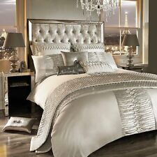 Kylie Minogue Bedding ATMOSPHERE Oyster / Ivory Duvet Cover, Cushions or Throw