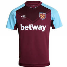 WEST HAM UNITED UMBRO HOME SHIRT 2017/18 - MENS BRAND NEW TAGGED & BAGGED