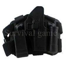 Tactical Glock Leg Holster Right Hand Paddle Thigh Belt Drop Pistol Gun Holster