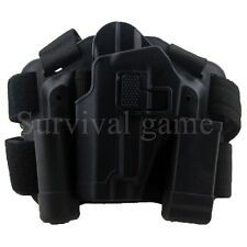 Tactical  Leg Holster Left Hand Paddle Thigh Belt Drop Pistol Gun Holster