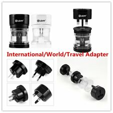 Universal Portable UK US AU EU Power Socket Plug Adapter Travel Converter A43