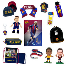 LIONEL MESSI BARCELONA OFFICIALLY LICENSED GIFT,COLLECTIBLES & APPAREL 20+ ITEMS