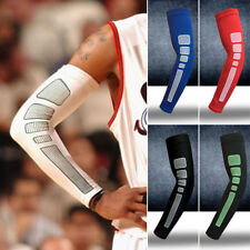 Sports Arm Support Stretch Sleeve Compression Running Basketball Dri-Fit 5Colors