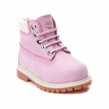 """NEW Toddler Timberland 6"""" Inch Classic Boot Pink Girls Baby Shoes Waterproof"""