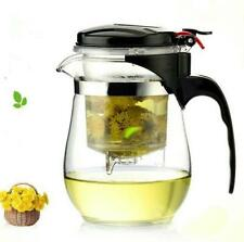 Heat Resistant Glass Teapot Chinese Kung Fu Tea Set Kettle Coffee Glass Maker