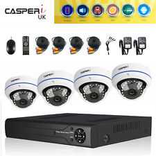 CCTV System Outdoor HD Home Kit Night Vision 4/8 CH DVR 1080p Wide Angle Cameras