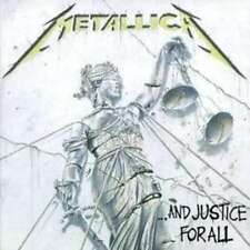 METALLICA AND JUSTICE FOR ALL CD NEW