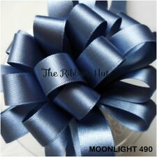 Berisfords Moonlight #490 Double Sided Satin Ribbon 9 Widths