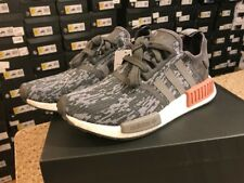 Adidas NMD R1 Runner Gray Raw Pink Women BY9647 Brand New in Box