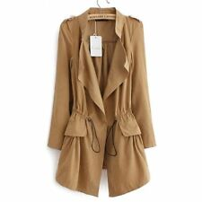 Long Manteau Femme 2017 New Spring Plus Size Trench Coat Slim Thin Burderry Wome