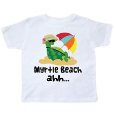 Inktastic Myrtle Beach South Carolina Toddler T-Shirt State Cities City Towns