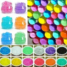 10000pcs Crystal Mud Soil Planting Flower Water Jelly Pearls Gel Beads Balls @GN