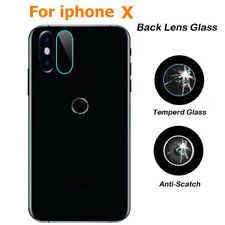 Rear Camera Lens 7.5H Tempered Glass Protector Full Cover Film For iphone X Lot