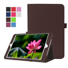For Apple iPad Air 2 Luxury Flip Slim Leather Smart Cover with Folio Stand Case