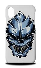 ALIEN HEAD SKULL 2 HARD CASE COVER FOR APPLE IPHONE X