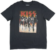 Kiss Destroyer 1976 Album Rock Band T-Shirt Gene Simmons - Men's S M - New +Tags