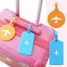 Travel Luggage Tag Cartoon Suitcase Baggage Case Label Tags Address ID Name Card