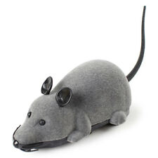 New Funny Pet Cat Mice Toy Wireless RC Gray Rat Mice Toy Remote For Kids P