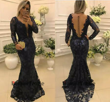 Sexy Mermaid Evening Dresses Long Prom  Formal Party Pageant Celebrity Ball Gown