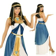 Adult Cleopatra Costume Ancient Times Egyptian Queen Fancy Dress Party Outfit
