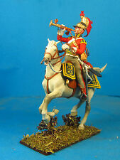 Napoleonic Wars — British Trumpete Guard dragoon — 60mm High quality Lead Figure