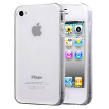 Protective Case UltraSlim Silicone Apple iPhone 4/4S/0.1oz TPU Extra Thin