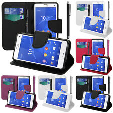 Protective Cover For sony Xperia Z3 Compact D5803 Phone Briefcase Plastic TPU