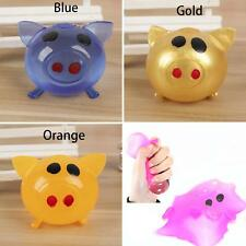 1Pc Anti-stress Decompression Splat Ball Vent Toy Smash Various Pig Toys Super