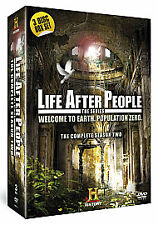 Life After People: The Complete Season Two DVD  - 3 Disc Set (2011) NEW SEALED