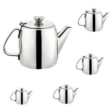 Stainless Steel Teapot Cold Water Kettle Restaurant Supply Silver 5 Sizes