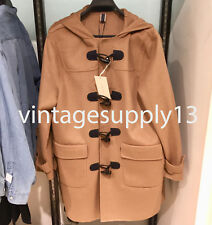 ZARA MAN COAT WITH TOGGLE BUTTON CAMEL S-XXL REF. 6107/310