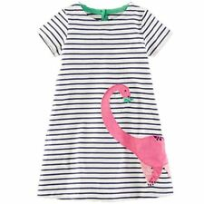 Baby Girl Dress with Animals Applique 2017 Summer Princess Dress Kids Clothes 10