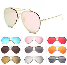 2017 New Retro Fashion Unisex Women Men Aviator Sunglasses Vintage Shades