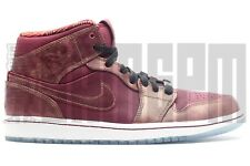 2014 Nike AIR JORDAN 1 MID BHM 9 10 RED GOLD history month kobe banned chicago