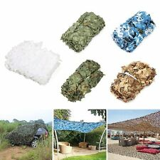 Camo Army Woodland leaves Camouflage Net Netting Camping Military Hunting Blinds