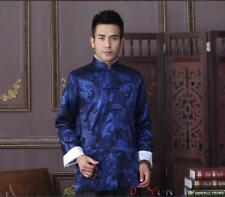 Chinese Traditional  Men's Silk Kung Fu Party Jacket/Coat  Size: M L XL 2XL 3XL