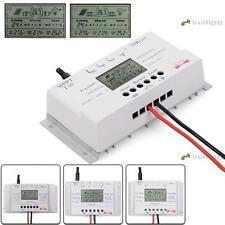 LCD 10/20/30/40A 12V/24V MPPT Solar Panel Regulator Charge Controller ❀N