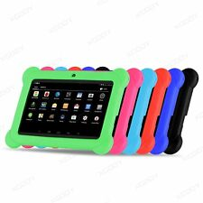 Shockproof Rubber Soft Silicone Case Cover For Android 7'' Tablet candy color