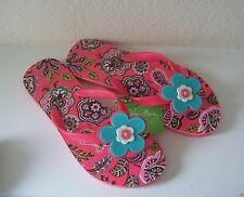 Vera Bradley Flip Flops - Call Me Coral - New With Tags!
