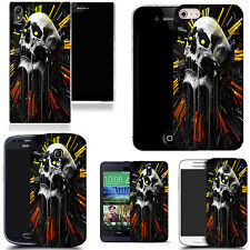 art case cover for many Mobile phones -  apex skull silicone