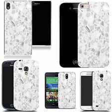 hard durable case cover for iphone & other mobile phones - hard marble