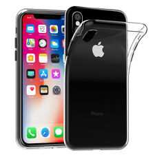 """Cases Ultraslim Silicone Apple iPhone x 5.8 """" TPU Extra Thin Case"""