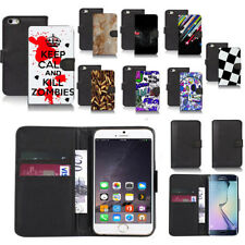 black pu leather wallet case cover for popular mobiles design ref a47