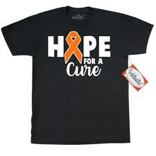 Inktastic Kidney And Leukemia Cancer Hope For A Cure T-Shirt Awareness Ribbon