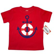 Inktastic Anchor Life Preserver Toddler T-Shirt Nautical Sailing Sail Ocean Sea