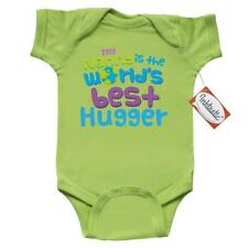 Inktastic Nanny Worlds Best Hugger Infant Creeper Grandma Hug Hugging Gift Baby