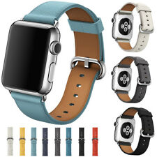 For Apple Watch 38/42mm Genuine Leather Watch Strap Bracelet Wrist Band Luxury