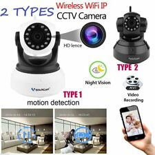 1/2X Night Vision Wireless Pan Tilt HD 720P IP WiFi Camera Security CCTV Network